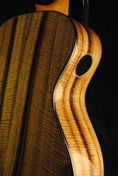 Stehr guitar with Oregon Myrtle