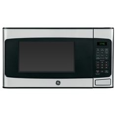 $106  Best buy $119  Lowes sale   GE 1.1-cu ft 950-Watt Countertop Microwave (Stainless Steel)Height (Inches)	12 Width (Inches)	20.3125 Depth (Inches)	15.625
