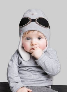 Baby Aviator Hat - Look, we can buy one @Judy Malloy! We just need to find someone who speaks whatever language this website is in.