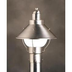 Kichler Lighting 9923ni Seaside Post Mount Light Brushed Nickel By 106 20 From The Manufacturer Finish Bulb 1 100w A19