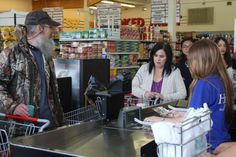 Ms, Kay thinks Si really doesn't understand couponing because he is buying stuff he doesn't need