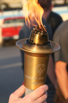 Special Olympic Torch