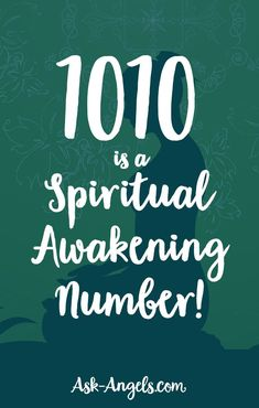 1010 is a spiritual awakening number! Learn more about what it means. And the connection between this number, and your angels! Spiritual Awakening Stages, Spiritual Prayers, Spiritual Meaning, Spiritual Meditation, Spiritual Guidance, Angel Number Meanings, Angel Numbers, Numerology Numbers, Numerology Chart