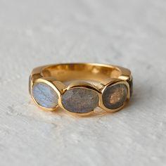 Labradorite Path Ring in Valentine's Day Earrings, Bracelets, Rings at Terrain