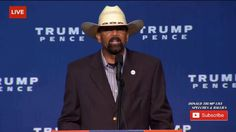 Sheriff Clarke Brings Down The House At Trump Rally - It Is Pitchforks a...