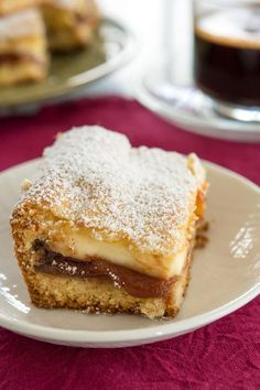 Panetela de Guayaba is a bar dessert that's easy to make. It combines guava … Panetela de Guayaba is a bar dessert that's easy to make. It combines guava and cream cheese, so it's a nice departure from the traditional. Guava Bars Recipes, Guava Desserts, Cuban Desserts, Cuban Recipes, Easy Cake Recipes, Baking Recipes, Delicious Desserts, Dessert Recipes, Guava Recipes Healthy