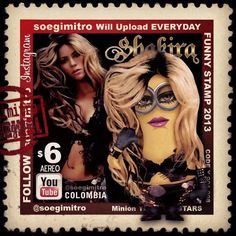 Minion de Shakira.