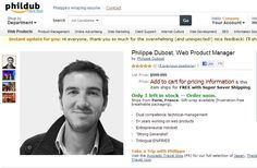 We don't actually know if Philippe Dubost is any good at his job. But boy, can he throw together a resume. Dubost, a web product manager currently based in Paris, is looking to . Best Resume, Resume Tips, Sample Resume, Resume Software, Job Resume, Online Cv, Online Resume, Amazon Online, Online Jobs
