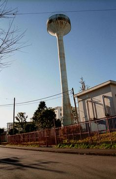 Water tower  -  Hachioji, Tokyo, Japan