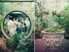 Conservatory of Flowers.  Lighting design by Got Light.