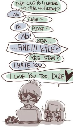 Stan x Kyle ~ love & hate relationship
