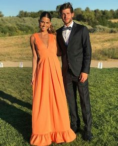 Sexy Prom Dress, Charming Prom Dress, on Luulla Vestidos Color Naranja, Bridesmaid Dresses, Prom Dresses, Formal Dresses, Coral Dress Wedding, Wedding Outfits, The Dress, Look Fashion, Dress To Impress