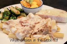 Whole Chicken – Crock Pot Dinner Ideas, Dinner Recipes, Great Recipes, Favorite Recipes, Dinners, Meals, Stuffed Whole Chicken, Crockpot Recipes, Cooking Tips