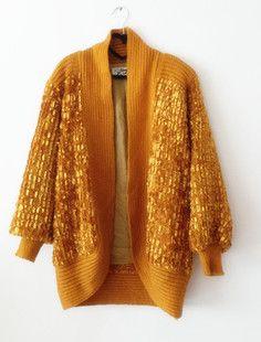 【双11促销】古着vintage 针织毛衣外套