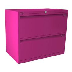 Bisley 2 Drawer Side Filer | Choose from 7 different steel colour finishes!!