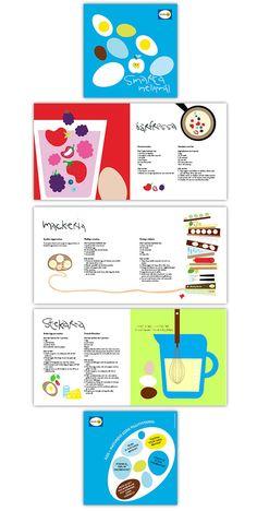 Estetica explicativa de un paso a paso es mu ilustrativa con un buen manejo de colores que generan atracción a la vista.-Svenska Ägg on Behance