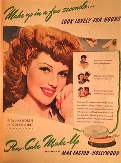Rita for Max Factor, 1943