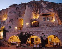 Cappadocia Cave Hotels- Goreme Valley, Turkey