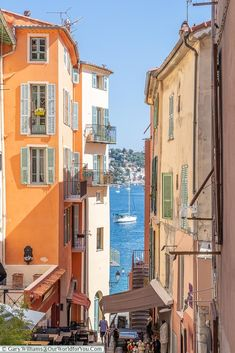 The view to the bay, Villefranche-sur-Mer, France Cool Places To Visit, Places To Travel, Places To Go, Nice France, South Of France, Antibes, Wonderful Places, Beautiful Places, Corsica