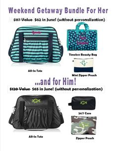 THIRTY-ONE June 2015 Special - The All In Tote. Get one before they're gone! https://www.mythirtyone.com/JenWillett #thirtyone #allintote #Junespecial