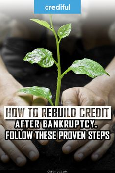 Bankruptcy doesn't ruin your credit forever. Find out step by step how to repair your credit after going through both Chapter 7 and Chapter 13 bankruptcy. #chapter13bankruptcytips #bankruptcychapter7 #personalfinance #financetips