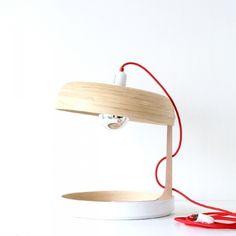 Lampe à poser FRES-CO blanc & nature