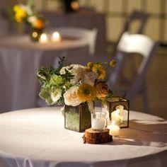 Lemons to Lemonade theme Wedding and a modern simple decor Woodland Wedding, Rustic Wedding, Reception Decorations, Table Decorations, Park Weddings, Amazing Flowers, Fairytale Weddings, Flower Arrangements, Centerpieces