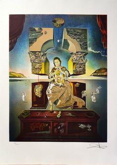 """Salvador Dalí: """"La Madonna de Port Lligat"""" 113/300 - Subasta Real"""