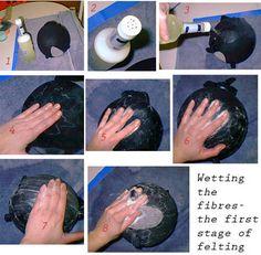 Tutorial: Wet-Felt Vessel - FIBER ARTS