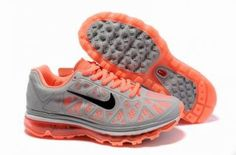 super popular 98062 5f715 Womens Nike Air Max 2011 Trainers Orange Grey For Wholesale