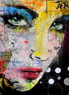 "Saatchi Art Artist Loui Jover; Drawing, ""mixtape"" #art"