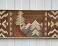 Past Reclaimed Wood Wall Art Twin Headboard by PastReclaimed