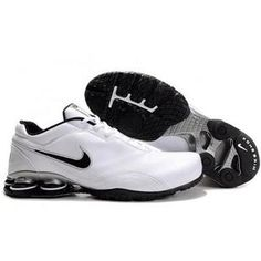 White Brown Nike Shox R5