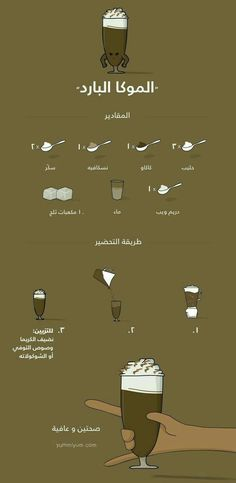 Coffee Drink Recipes, Starbucks Recipes, Coffee Drinks, Sweets Recipes, Cooking Recipes, Cute Food, Yummy Food, Arabian Food, Cookout Food