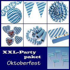 Partypaket Oktoberfest - XL Deko Komplettpaket