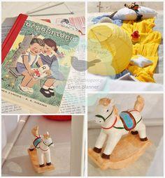 Η τέχνη της Σοφίας: Βάπτιση με θέμα Vintage Παιχνίδια