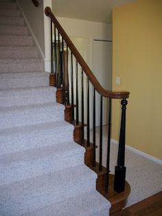 Lovely Paint Spindles Black So Stairs Donu0027t Look So Dated.