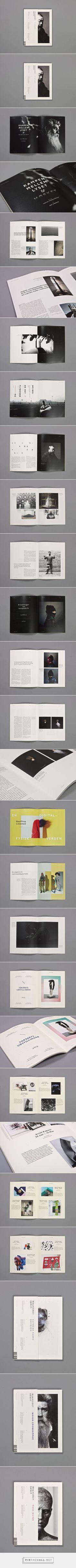 Magasinet Kunst on Behance by Henrik Ellersgaard…