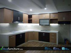 Kitchen set kelapa gading Modern Kitchen Cabinets, Kitchen Sets, Bed Design, Kitchen Design, Wood, Furniture, Ideas, Home Decor, Kitchens