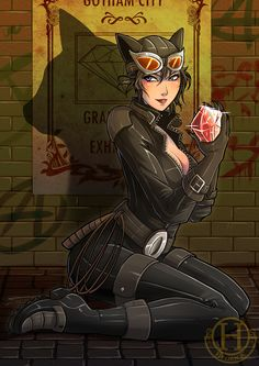 Catwoman by Hedrick Batman DC Comics Batgirl, Batwoman, Comic Book Characters, Comic Character, Comic Books Art, Comic Art, Batman And Catwoman, I Am Batman, Superman