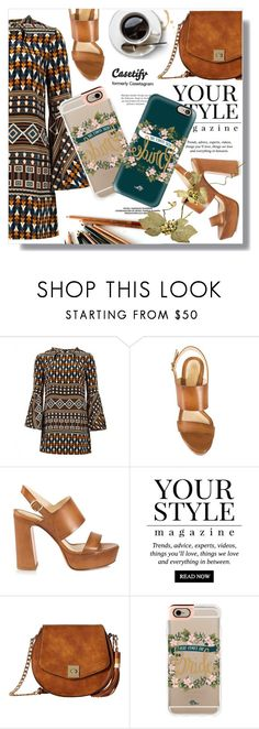 """""""..."""" by sans-moderation ❤ liked on Polyvore featuring Gucci, Santoni, Pussycat, Gabriella Rocha and Casetify"""