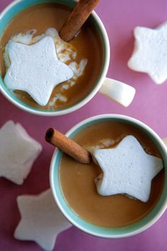 "Snowy winter day and this is today's after school snack. Winter Recipe: Caramelized White Chocolate ""Hot Chocolate"" — Recipes from The Kitchn Let me know if you like it."