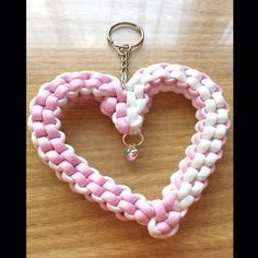 Big is beautiful as this heart shows. Measuring at: 3.5 inches wide and 4 inches high, minus the clip and chain. Although the pictures shows a split ring attachement, your heart will come with a lanyard clip. (Shown in the second image). This heart can have up to 2 colours.