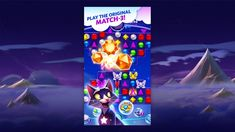 Bejeweled Stars - Free App - EA Official Site Match 3, Game Item, Apple Logo, Electronic Art, Night Skies, Ea, Board Games, Free Apps