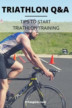 Want to try your first triathlon? My tips to get started with training - workout guidance & free resources! // Triathlon Q&A Series