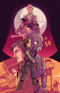 Star Wars Posters - Created by Derek LaufmanPrints available at the artist's…