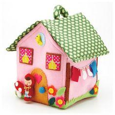 felt house. I want to make!