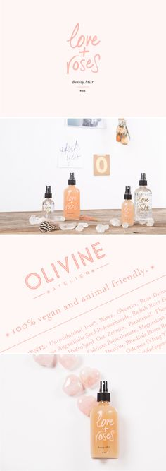 Branch | Olivine Atelier Love And Roses Beauty Mist
