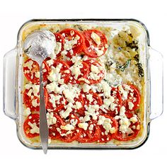 Macaroni with Goat Cheese, Spinach, and Tomatoes | SAVEUR