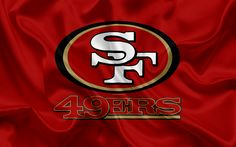 Lataa kuva San Francisco 49ers, Amerikkalainen jalkapallo, logo, tunnus, NFL, National Football League, San Francisco, California, USA, National Football Conference